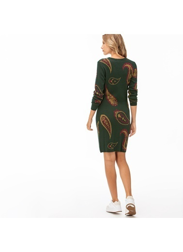 Lacoste Kadın  Elbise EF2041.41H Yeşil